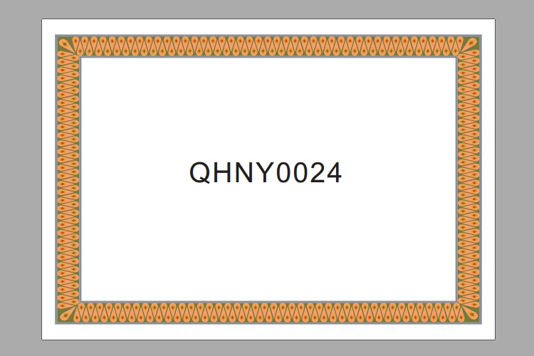 25pcs/1lot Letter of Appointment inside pages 12K A4 180g High grade paper blank Paper Certificate core