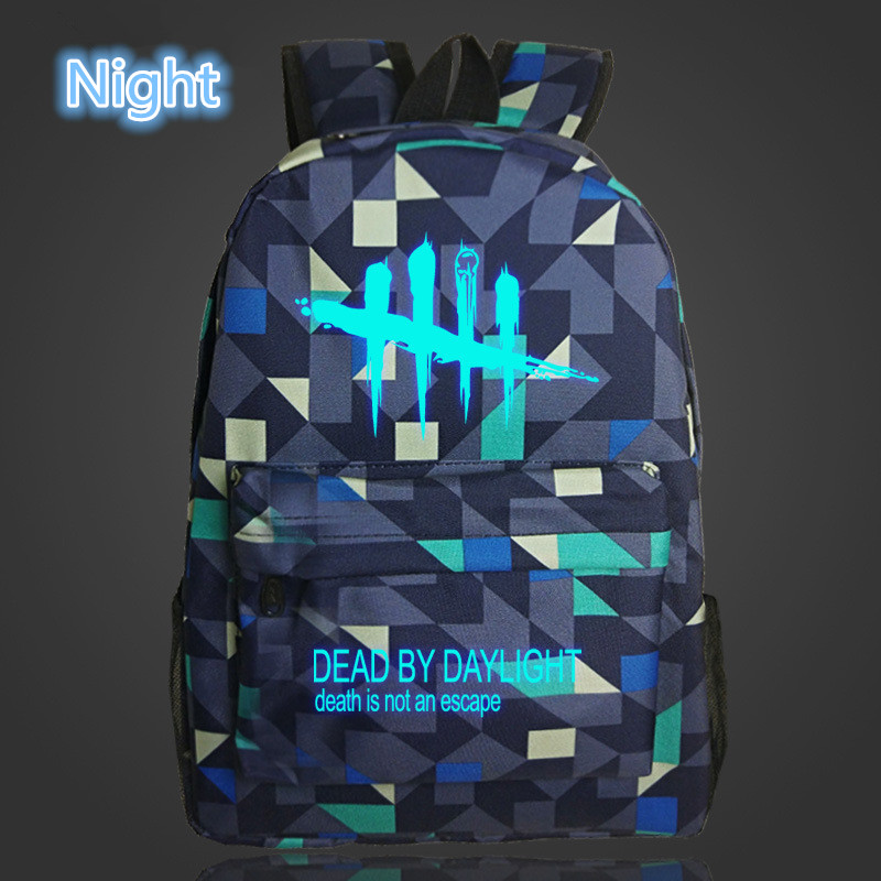 Image 4 - FVIP Cool Game Backpack Dead By Daylight Luminous Backpacks For Teenagers School Bag Travel Bags-in Backpacks from Luggage & Bags
