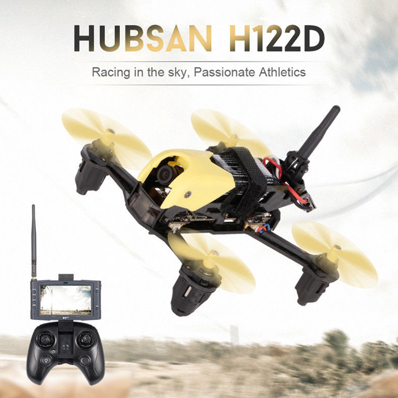 (In Stock) Hubsan H122D X4 Storm 5.8G FPV Micro Racing Camera Drone with 720P HD Camera LCD Video Monitor and FPV Goggles original hubsan h122d x4 storm spare parts h122d 18 video goggles hv002 for hubsan h122d x4 rc racing drone quadcopter