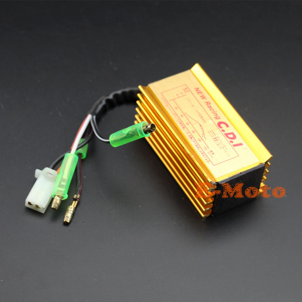 hight resolution of high performance racing cdi box ignition for yamaha jog scooter moped 2 stroke 50cc 90cc 1pe40qmb