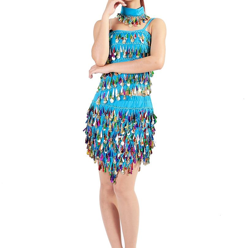Изпълнение Дамски дрехи за танци Salsa - Дрехи за сцена и танц - Снимка 3