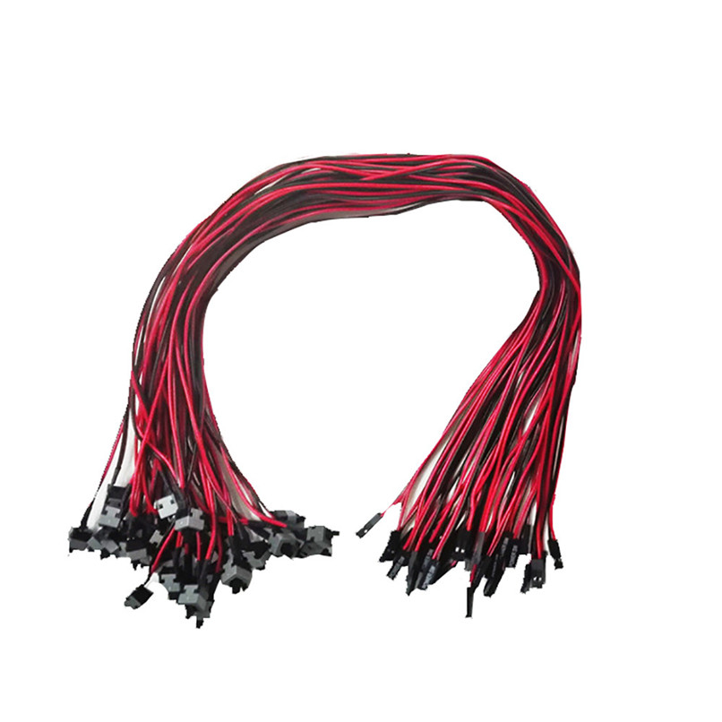 New Replacement ATX Motherboard Switch On/Off/Reset Power Cable for PC Computer Free Shipping H0T0 intel p55 atx lga1156 computer motherboard multicolored
