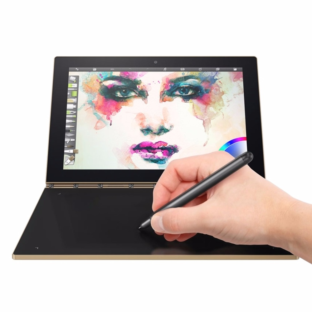 Original Tablet 10.1 inch Lenovo YOGA BOOK X90L NetBook PC 4GB 64GB Android 6.0 Home Intel Atom x5-Z8550 Stylus Pen 4 Modes