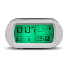 Safurance Digital Time Thermometer Date Weather Display