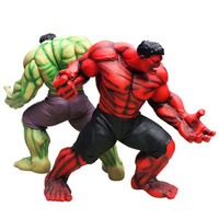 64CM Avengers The Hulk Action Figure Silicone Statue Red Ver Big Model Decoration Toy with Box H351