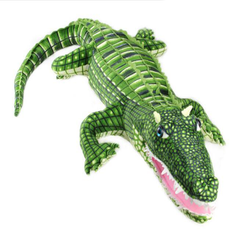 Simulation Plush Cartoon Alligator Toys Cute Pillow Super Soft Stuffed Animal Crocodile Dolls Gifts for Kids Friend 100cm/41