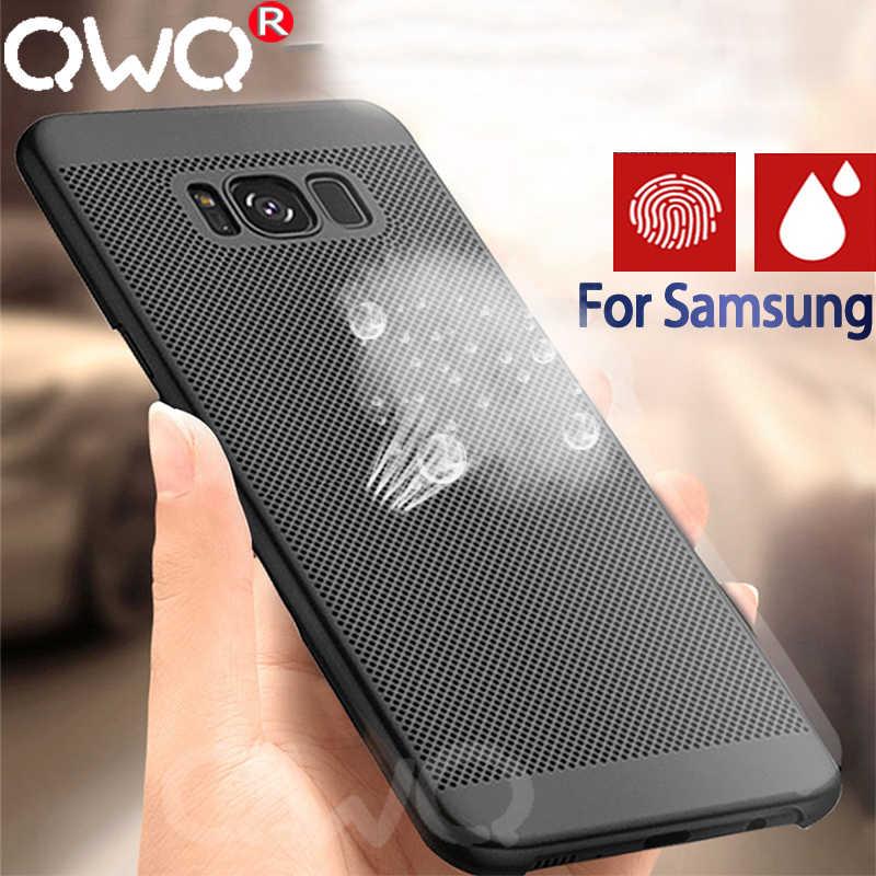 Ультратонкий чехол для телефона samsung Galaxy S9 Plus S8 Plus Note 9 8 жесткий защитный чехол для samsung S7 EDGE A5 2017 пластиковый чехол
