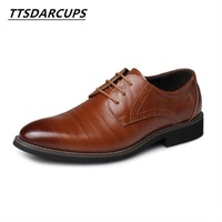 European And American Authentic Products Men S Single Shoes Business Leather Shoes Big Code 38 48