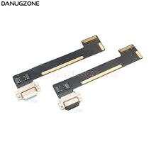 10 pçs/lote Para ipad mini 4 mini4 A1538 A1550 USB Cobrando Conector de Porta Doca de Carga Tomada Jack Plug Cabo Flex