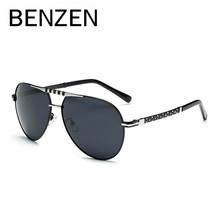 BENZEN Sunglasses Men Polarized Brand Designer Vintage Pilot Sun Glasses Male Aviation  Driving Glasses Unisex With Case 9178