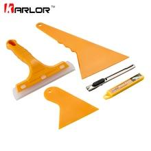 5pcs/set Auto Car Squeegee Scraper Vehicle Vinyl Film Sticker Installation Tools Kit Vinyl Cutter Knife Car Styling Accessories