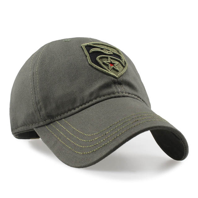 0fc7d5f44e9 placeholder Eagle Warrior Men Navy Seal Cap Top Quality Army green wolf Snapback  Caps Hunting Fishing Hat