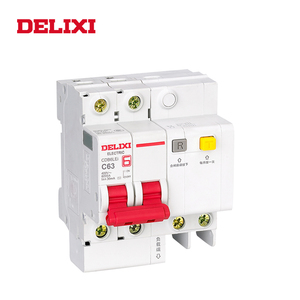 Image 2 - DELIXI CDB6iLE 4P 400V 10A 16A 32A 63A Residual current Mini Circuit breaker Overload Short Leakage protection C type curve RCBO