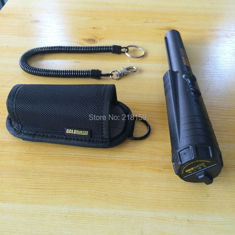 Free Shipping !!!  Handheld metal detector GOLD HUNTER pro pointer pin pointer gold detector handheld portable metal detector handheld scanner handheld pro pointer for security screening