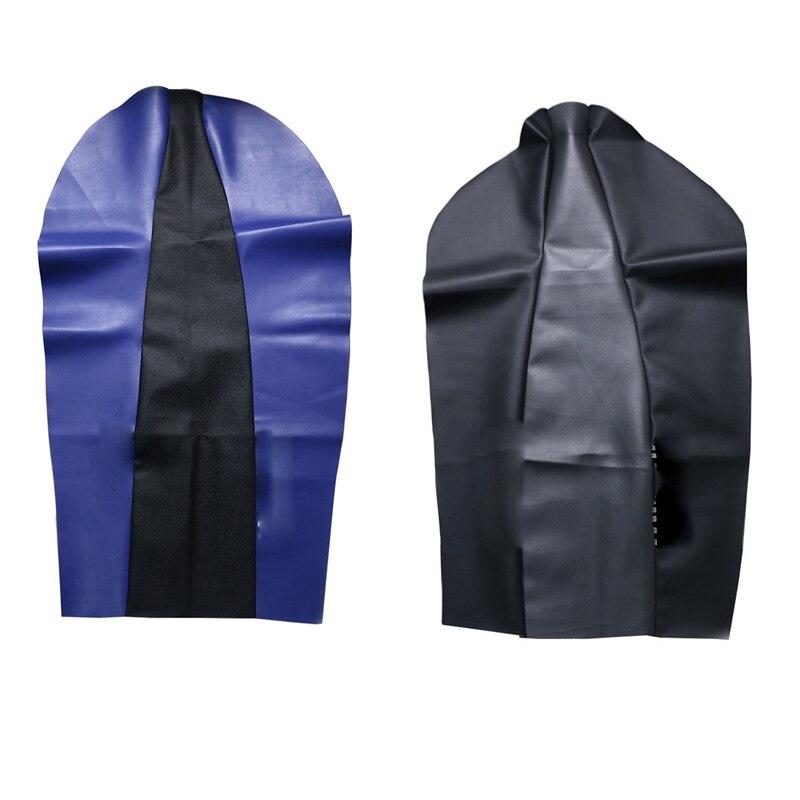 LOGO PU leather Waterproof Seat skin saddle cushion Cover Protector XT 225 250 Off Road For Yamaha XT225 XT250 XT-225 XT-250