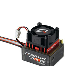 RC Hobby ala QuicRun 1:10/1:12 impermeable inductivo sin escobillas 60A ESC para RC coche Wltoys coche RC coches de juguete MAR20(China)