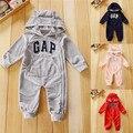 Nombre de marca ropa de bebé unisex recién nacidos de manga larga hoodies roupa de bebe recem nascido macacão de marca ropa bebe nacido recien