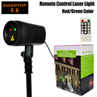 TIPTOP Stage Light CR 2025 Remote Controller Red Green Moved Laser Light Angle Speed Adjustable US