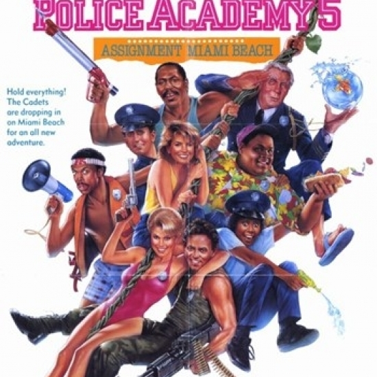 Police Academy 5 Assignment Miami Beach