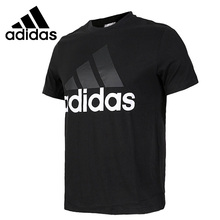 Original New Arrival 2017 Adidas ESS LINEAR TEE Men's T-shirts short sleeve Sportswear купить недорого в Москве