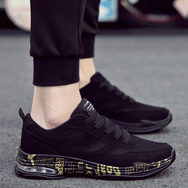 2018 New Fashion High End Men S Shoes Breathable Shoes Men S Casual