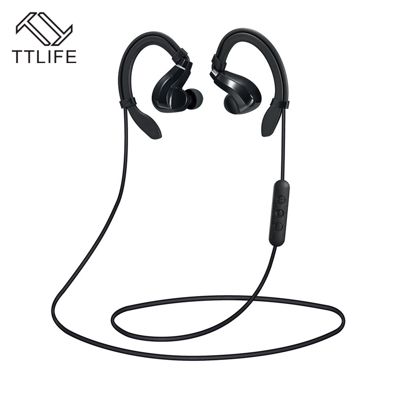 TTLIFE Bluetooth 4.1 Sport Earphone Handfree Wireless Stereo Headset with Mic Universal sweatproof For iPhone 7 Plus Smartphones ttlife bluetooth earphone