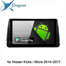 "Fongent Car Android 9.0 Multimedia Video 1 Din Radio for Nissan Kicks Micra 2014 2015 2016 2017 Car Stereo 10.2"" IPS 4GB RAM(China)"