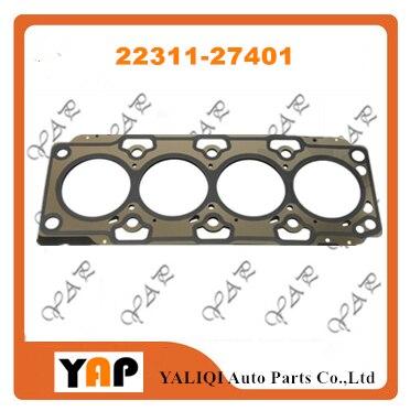 D4EA дизельный уплотнительное кольцо для головки блока цилиндров для hyundaikia Sportage Cerato Pro Cee'D Elantra, Santa Fe Trajet Tucson I30 2.0L L4 22311 27401