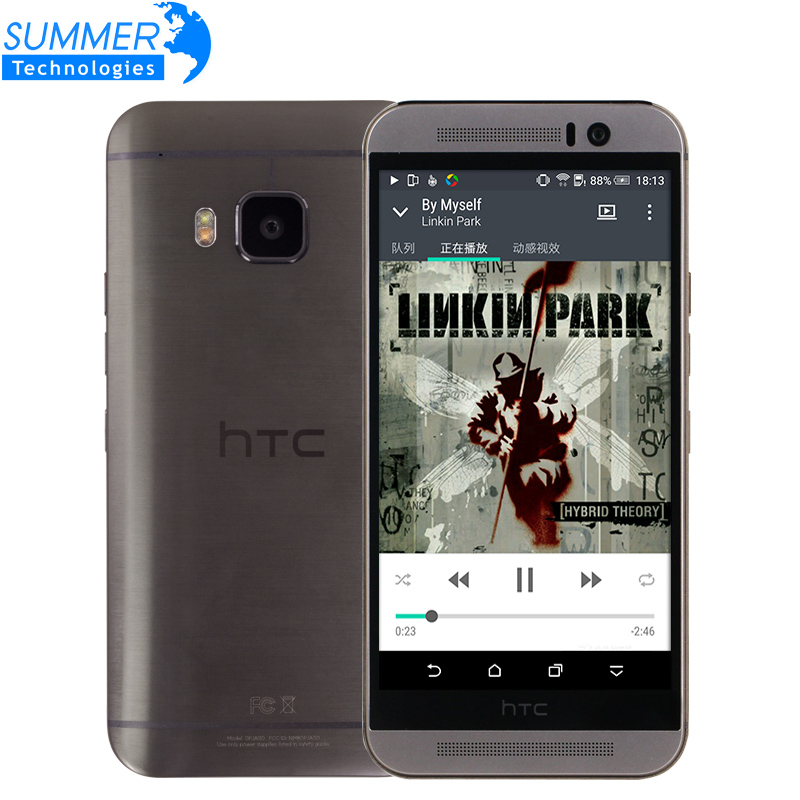 Original Unlocked HTC One M9 Mobile Phone Octa Core Marshmallow Snapdragon 810 4G LTE 3G RAM