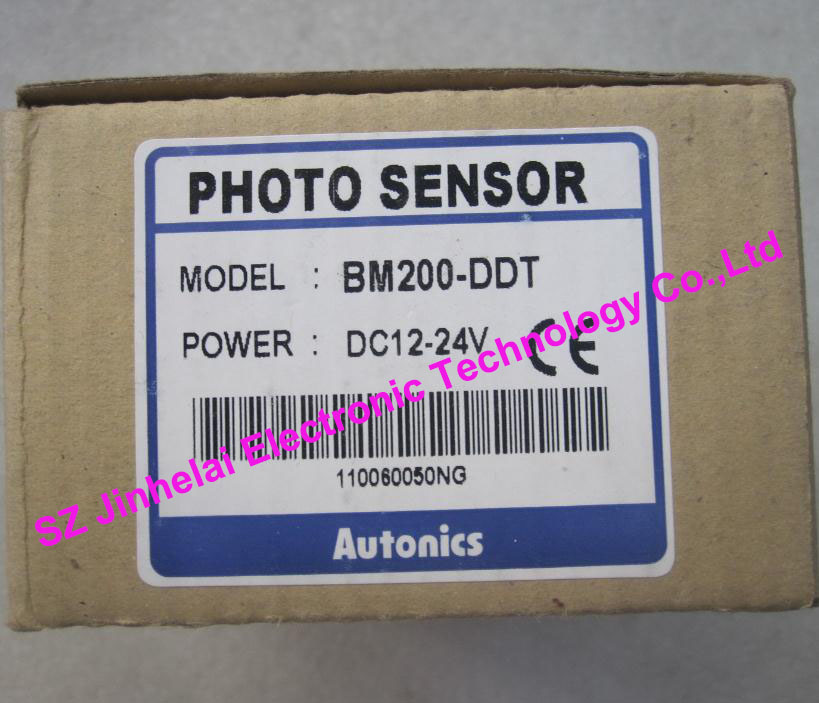 New and original  BM200-DDT   AUTONICS   Diffuse reflection type photoelectric sensor infrared photoelectric sensor diffuse diffuse reflection type photoelectric switch sensor e3z d62