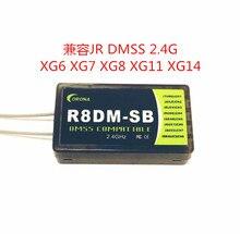 コロナ 2.4 2.4ghz の Dmss 対応受信機は使用するように設計 JR DMSS 2.4 Ghz の送信機、 XG6 など XG7 XG8 XG11 XG14