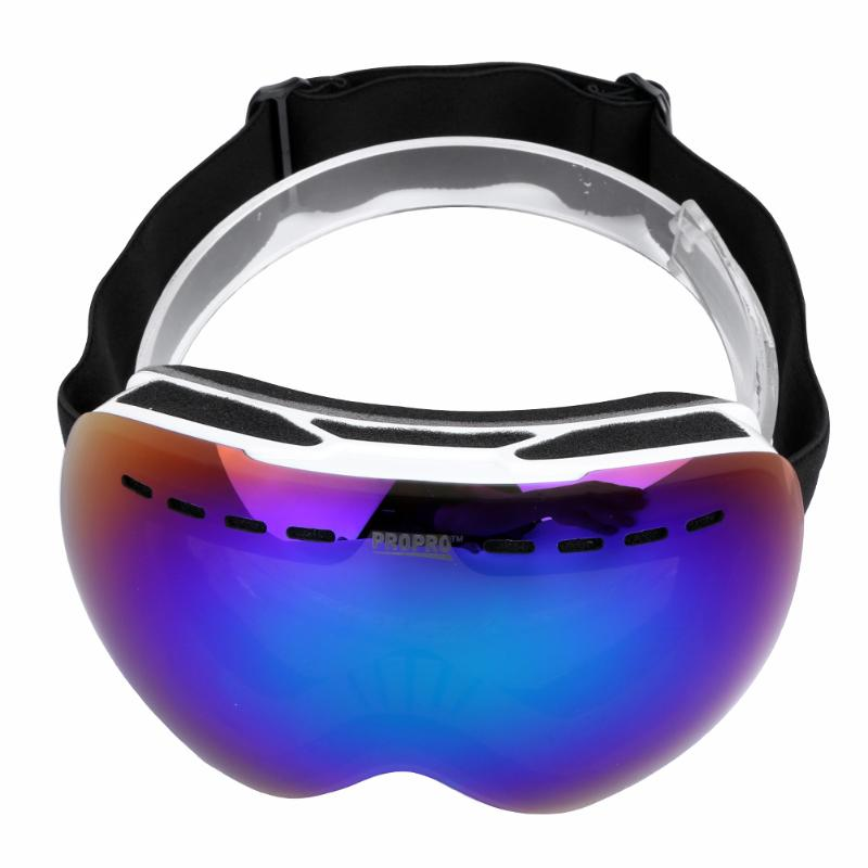 Dual Layer Winter Ski Goggles Unisex Anti fog Spherical Outdoor font b Snowboard b font Skiing