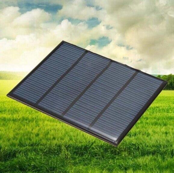 1 Pc Solar Panel Mini 12 V 1,5 W Solar Panels Kleine Zelle Modul Ladegerät Für Handy Dc Batterie Tl