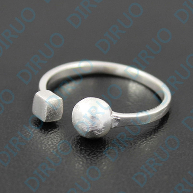 Hypoallergenic Wedding Rings: 925 Sterling Silver Opening Ring Jewelry Wedding Bands