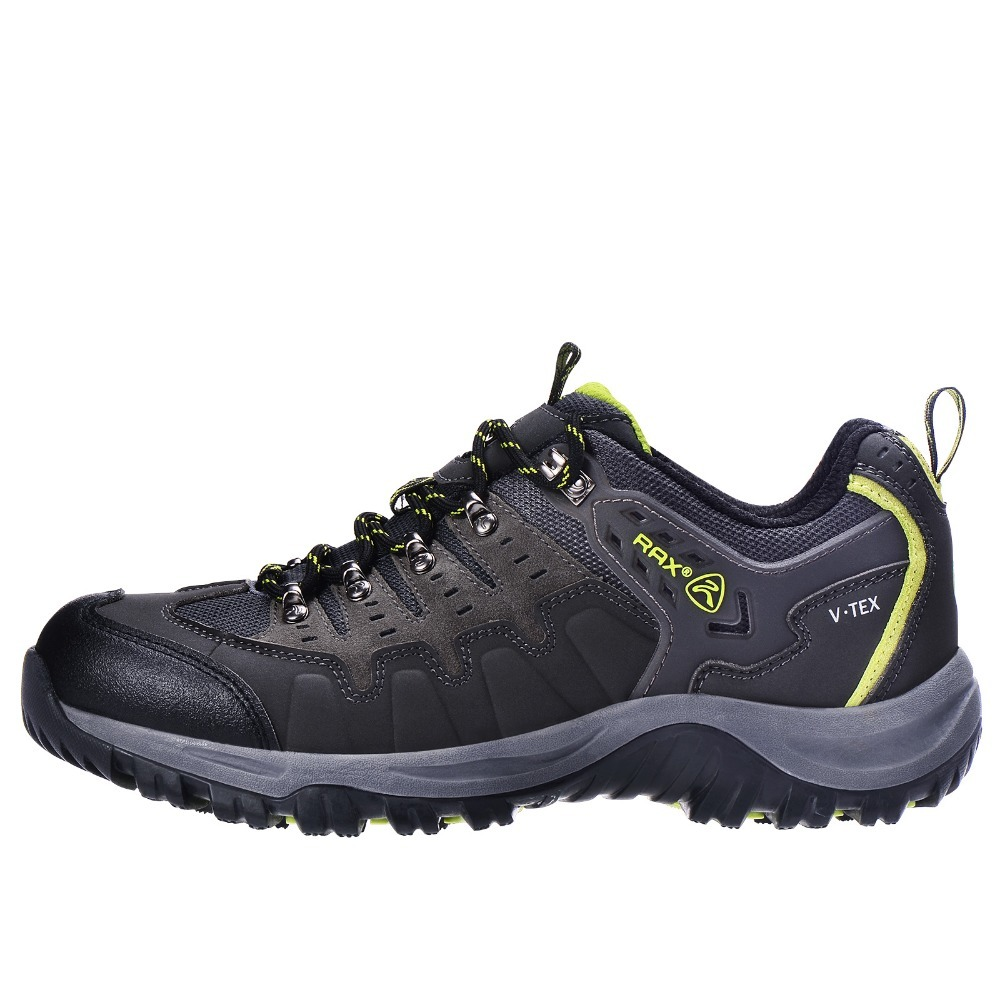 RAX Men Waterproof Leather Hiking Shoes Women Walking Trekking Mountaineering Hunting Shoes Non Slip Outdoor Sports Sneakers
