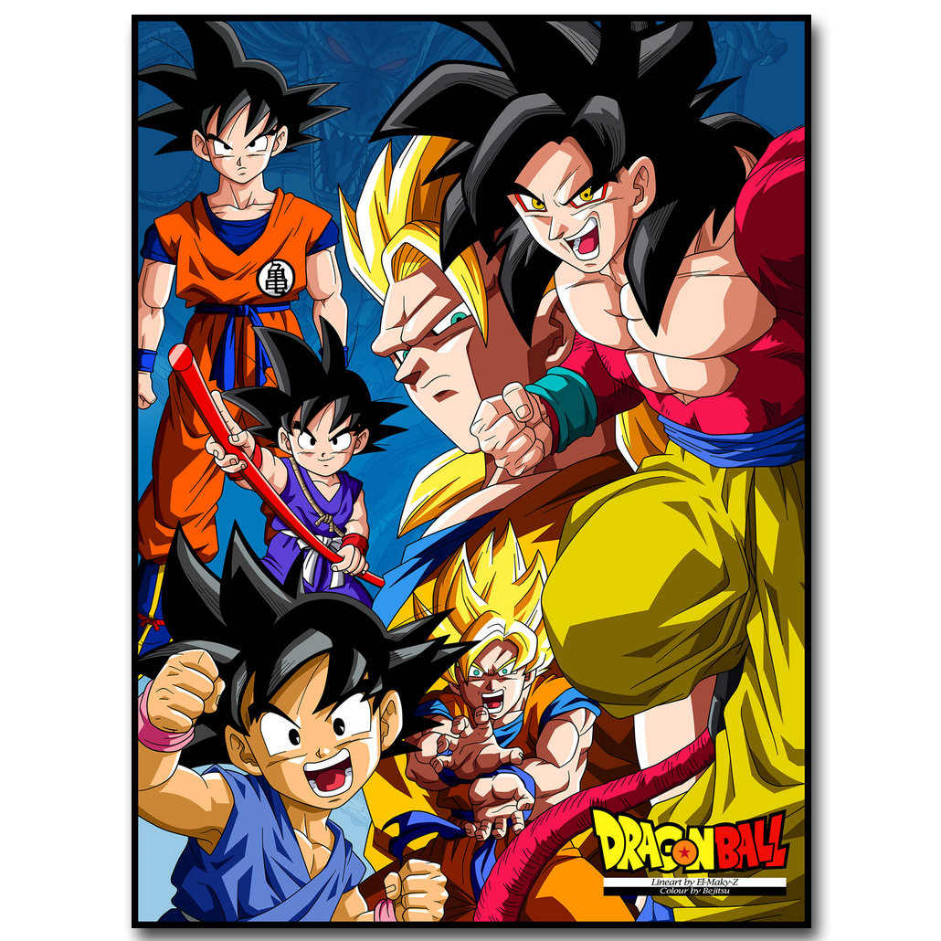 View Dragon Ball Z Fabric For Sewing Wallpapers