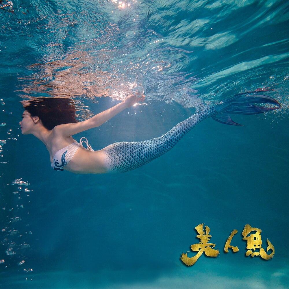 Free Shipping, Mermaid tail Cosplay костюмді көйлек - Костюмдер - фото 5