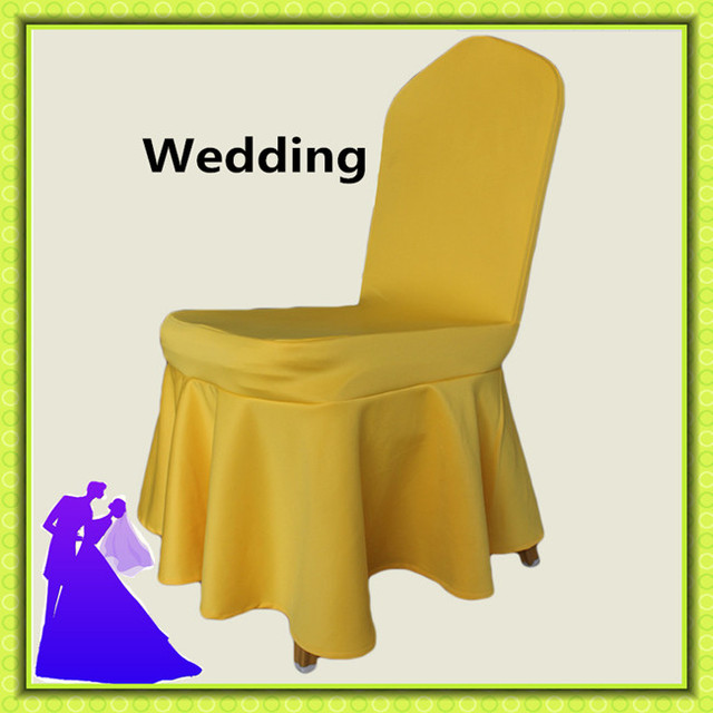 Marious Brand Five Colors Spandex Sunflower Chair Cover For Wedding Chairs  Clothes Party For Free Shipping