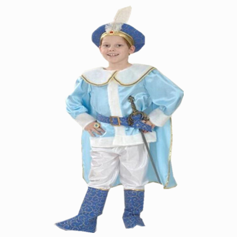 Halloween Little Arab Knight Children's Costume Dress Up Game Prince Charming Costumes Cos Arab Costume