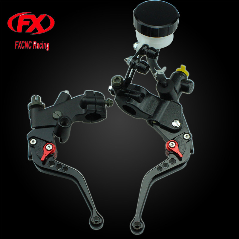 125-600cc Motorcycle Brake Clutch Levers Master Cylinder Hydraulic Brake Cable Clutch For Honda GROM CBR300R CB300F FA 2014-2016