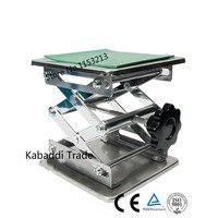 실험실 잭 실험실 지원 잭 150x150x250mm stainess 스틸 페인팅 리프팅 테이블 유럽에 플랫폼 6''inch 내보내기