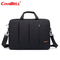 CoolBELL Casual Messenger Bag 15.6 Inch Slim Briefcase Waterproof Oxford Nylon Handbag Shoulder Bags For Laptop/HP/Acer/Macbook