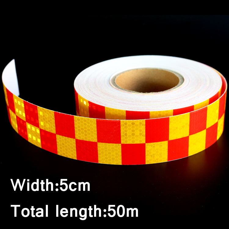 50mx5cm Motorcycle Decoration Reflective Strips Car Glue Stickers For Car Styling Truck Safety