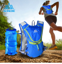 AONIJIE Running Backpack Water Bag Package Breathable Waterproof Marathon Cycling Hiking Bags Sport Vest 1.5L Water Bag Optional