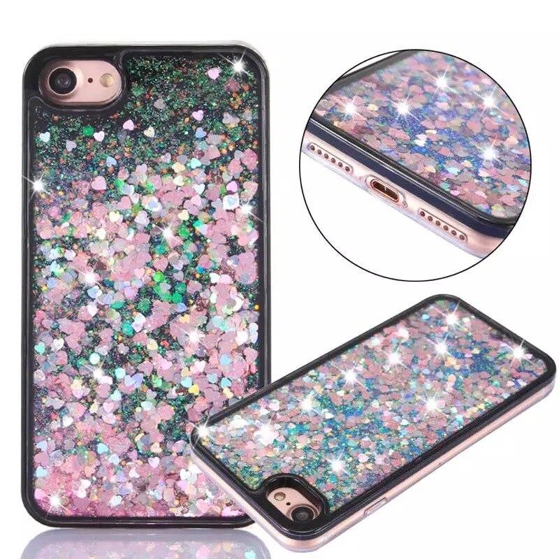 Barva za iphone5 5s 6 6 Plus ohišje bliskavice bleščice TPU - Dodatki in nadomestni deli za mobilne telefone