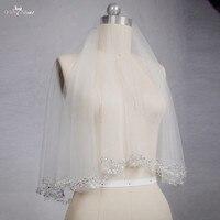 RSV11 Short Wedding Veil Beaded Veil