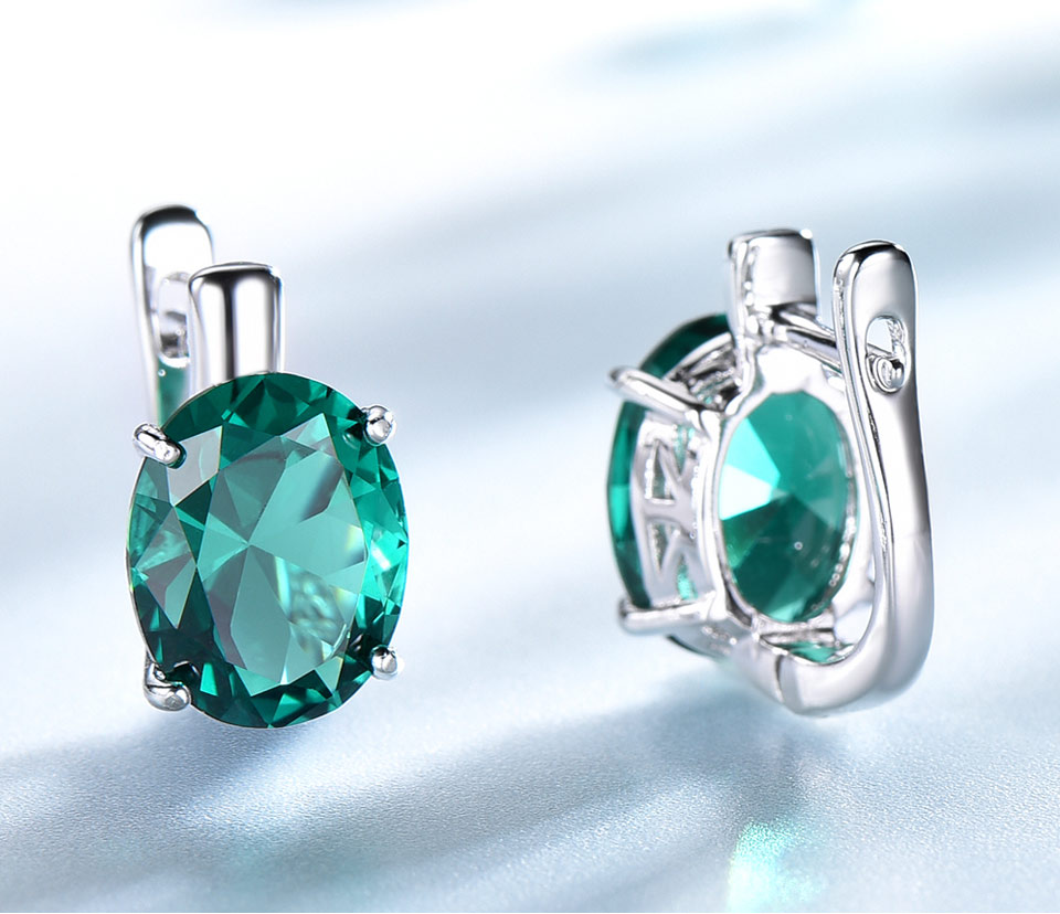 UMCHO-Emerald-925-sterling-silver-clip-for-women-EUJ085E-1-PC_04