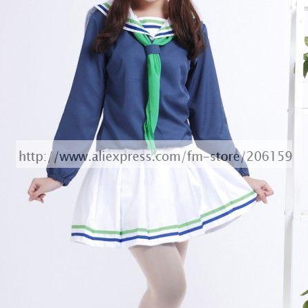 US $32.9 |Kuroko no Basuke Aida Riko Cosplay Costume on AliExpress