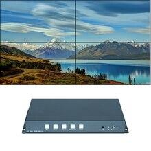 TuuKoo 4 канала ТВ контроллером видеодисплея 2×2 (1 шт.); 3 1×2 2×1 3×1 HDMI VGA USB видеостена процессор