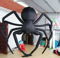 Gigante inflable de Halloween araña inflable colgar decoraciones del partido de Halloween de dibujos animados